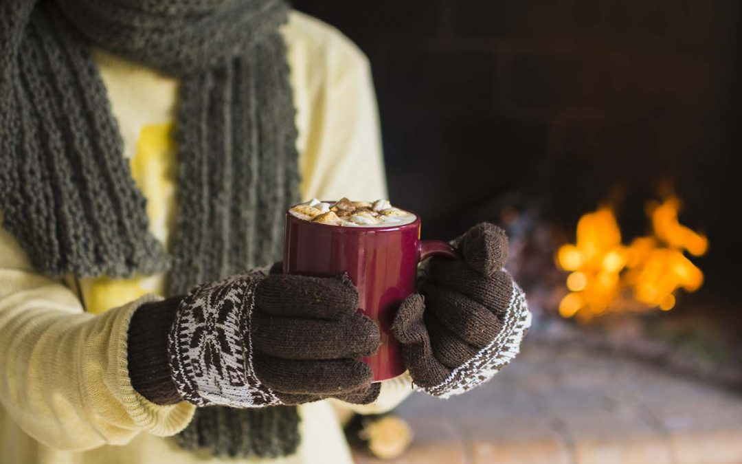 Chłodny luty? Zabierz ją na gorąca czekoladę!